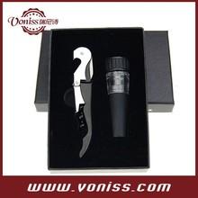 Wine Waiter's Friends Corkscrew Opener, Wine Vacuum Stopper Gift Set, Promotional Gift Set