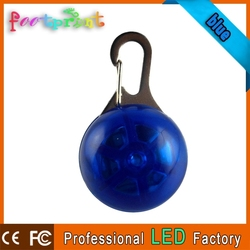 Good quality LED lighting pet/keychain pendant