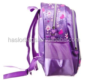 Dernière mode enfants école sac à dos / sac d'école de princesse pour les filles