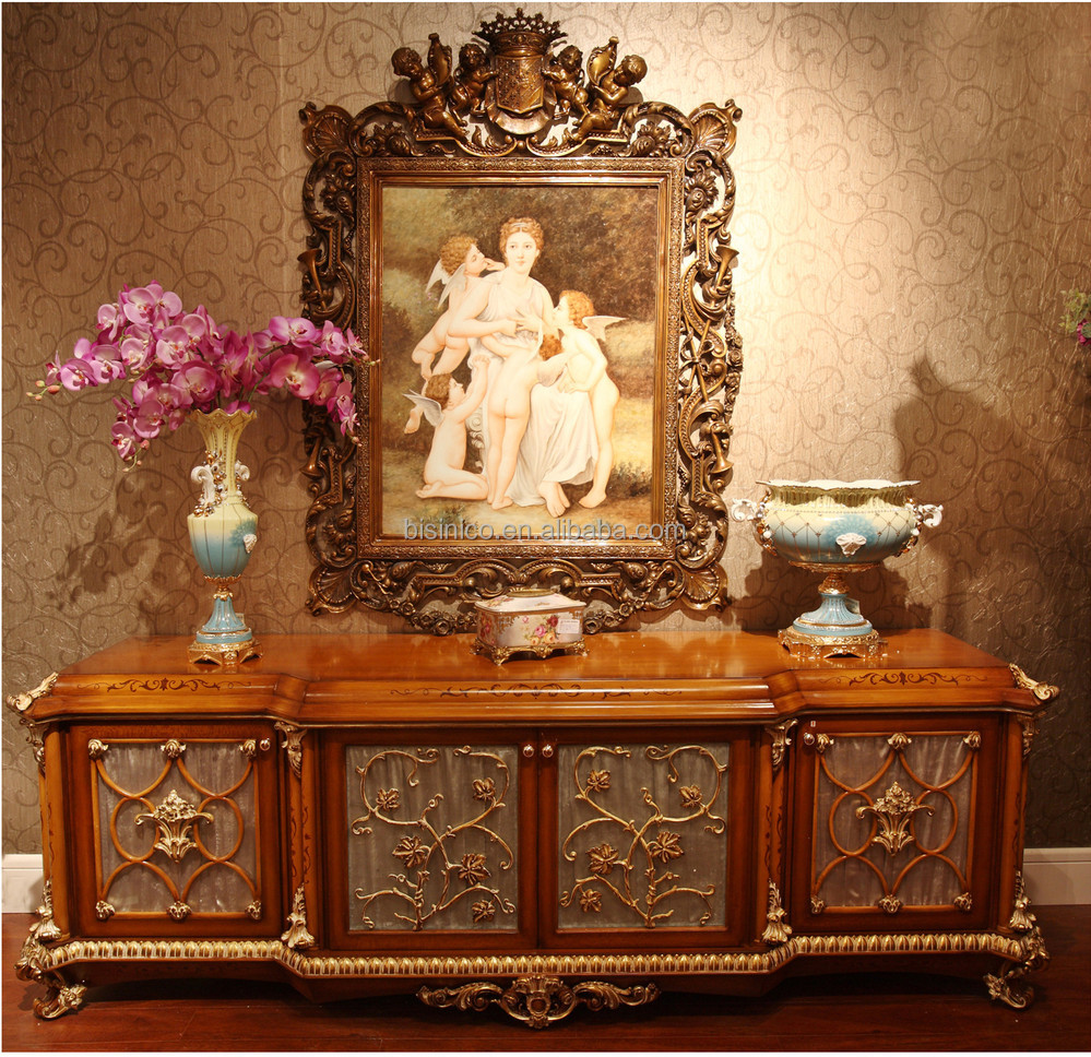 Luxury french rococo style wood carved fabric sofa set for French rococo furniture