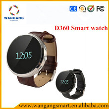 Trending hot products Smart Watch D360 Smart Watch 2015 for iPhone Samsung HTC Android IOS Phones