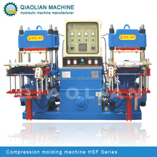silicone steering wheel cover making machine / silicone rubber vulcanizing machine