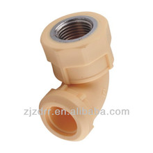 PPR Female Elbow Pipe Fittings pipe elbow 90 degree dimensions