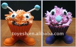 silicone silly feet cupcake