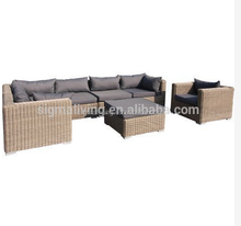 2015 Popular wicker outdoor antique rattan sofa furniture