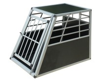 Modern aluminium pet cage with two doors top sales