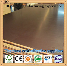 LINYI Manufacture 18mm brown film faced plywood / Shuttering ply / Concrete formwork construction plywood