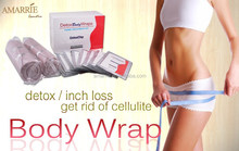 Hot Selling New Products Private Label Herbal Fat Burning Weight Loss Slimming and Detox Spa Body Wrap Towel