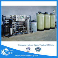 iron water softener treatment plant