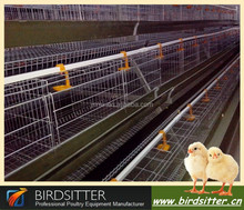 2015 Hot selling A frame automatic and manual poultry farming battery chicken and layer cages in Africa