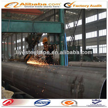 Q345GJ LSAW (BCD) hollow low alloy hot rolled cold formed black welded steel pipe