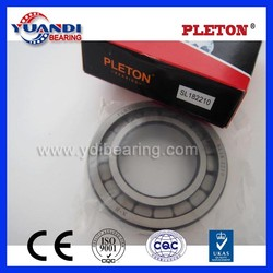 Famous brand PLETON SL182210 full complement cylindrical roller bearing