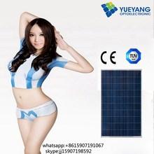 Portable Easy solar panel power inverter power generator poly solar panel module for Solar System with TUV