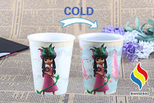 China Wholesale New Design Plastic Drinks Containers Color Changing Plastic Cup