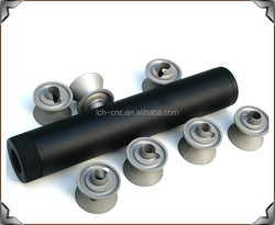 High Precision OEM Turning Parts Machinery Metal CNC Turning Parts for Gun Silencers