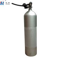 12L Aluminum oxygen cylinders 12L Aluminum material oxygen bottle Divers using aluminium oxygen cylinders