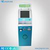 Barcode scanner kiosk house