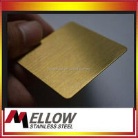 Mellow Hairline Stainless Steel For Elevator Cabin Factory Foshan