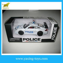 Wholesale 1:32 Metal pull back police car toyswith light and sound YX001192