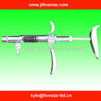 Veterinary syringe stainless steel 2ml