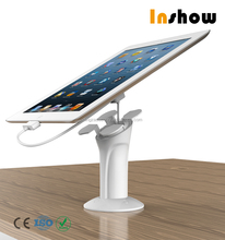 Inshow neat display anti-theft alarm tablet stand retail tablet security display