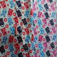 100% Polyester Super Soft Print Fleece Velboa Fabric For Baby Blanket