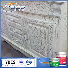 Multi color cracks gates furniture wall color paint , color changing paint , water color paint