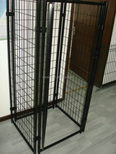 2015 new chain link rolling portable colored dog kennel