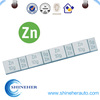 Zinc clip on wheel weights for car, 5g ~60g, ZN clip on wheel balance weights