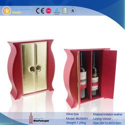 High Range 2 Bottle Wine Cardboard Carrier