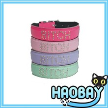 PU dog collar dog lead