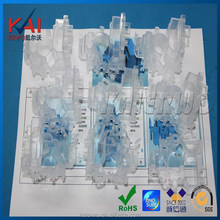 Clear Silicone Mold for PC materials