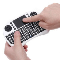 I8 cheap remote controller wireless keyboard for android tv box