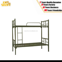new design military metal army double bed (Green / black)