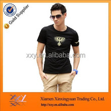 Most popular embroidered stone washed blank t-shirts for men