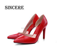 Sexy Lady High Heel Night Party Dress Pointed Toe Patent Leather Pump Shoes