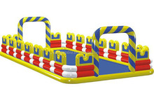 2014 new designed inflatable water soccer field