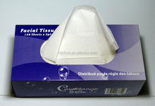 100sheets box facial tissue with 2ply