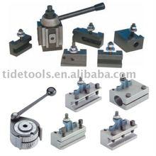 Quick Change Lathe Tool Post & Tool Holder Machine Accessories