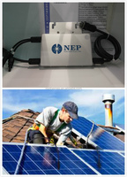 22-55VDC high quality power solar grid tie micro inverter 250w