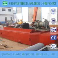 Mini lagoon sharp sand dredge for sale