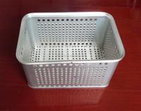 High quality Aluminum seafood storage container, aluminum basket, aluminum case