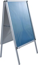 Aluminium A1 size double side poster board