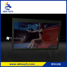 15 inch transparent touch screen LCD display with H DMI,VGA,DVI inputs