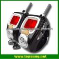 22 canales de reloj de pulsera estilo walkie talkie con retroiluminación gran pantalla lcd