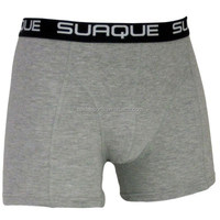 High quality solid color boxershorts comfortable men's boxer