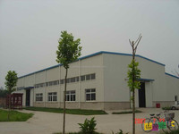 steel factory building