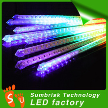 High quality double sides outdoor led christmas meteor shower light