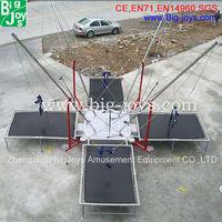 bungee rope jumping/backyard bungee trampolines /paramotor