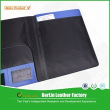 China office supplies A4 blue file folder for document & bussiness folder & hardcover folder
